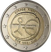 Cyprus 2 Euro 2009 KM# 89 Euro Coinage coin obverse
