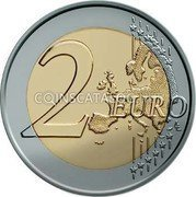 Cyprus 2 Euro 2009 KM# 89 Euro Coinage coin reverse