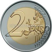 Cyprus 2 Euro 2012 KM# 97 Euro Coinage coin reverse