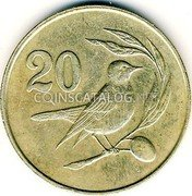 Cyprus 20 Cents 1983 KM# 57.1 Reform Coinage coin obverse