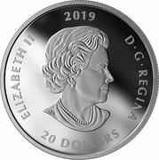 Canada 20 Dollars Viola Desmond 2019 ELIZABETH II 2019 D • G • REGINA 20 DOLLARS coin obverse