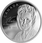 Canada 20 Dollars Viola Desmond 2019 CANADA VIOLA DESMOND 1914 ♥ 1965 coin reverse