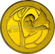 Cyprus 20 Euro 2010 Proof KM# 95 Euro Coinage coin reverse