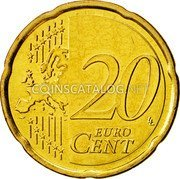 Cyprus 20 Euro Cent 2008 KM# 82 Euro Coinage coin reverse