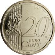 Estonia 20 Euro Cent 2011 KM# 65 Euro Coinage 20 LL EURO CENT coin reverse