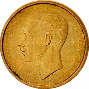 Luxembourg 20 Francs 1980 KM# 58 Standard Coinage Resumed JEAN GRAND-DUC DE LUXEMBOURG J.N. LEFEVRE coin obverse