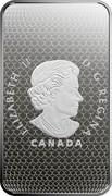 Canada 25 Dollars Montreal Canadiens: Yvan Cournoyer 2019 ELIZABETH II D•G•REGINA CANADA coin obverse