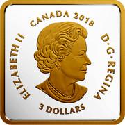 Canada 3 Dollars Canadian Coasts - Atlantic Coves 2018 Proof ELIZABETH II CANADA 2018 D • G • REGINA 3 DOLLARS SB coin obverse