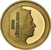 Luxembourg 5 € Central banks system 2003 (u) Proof KM# 84 2003 LËTZEBUERG coin obverse