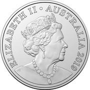 Australia 5 Cents 6th portrait 2020 ELIZABETH II AUSTRALIA 2019 JC coin obverse
