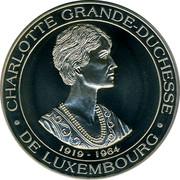 Luxembourg 5 ECU BeNeLux 1994 UNC CHARLOTTE GRANDE-DUCHESSE-1919-1964-DE LUXEMBOURG coin obverse