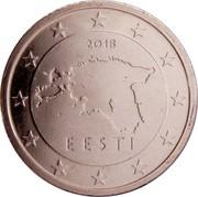 Estonia 5 Euro Cent 2011 KM# 63 Euro Coinage 2011 EESTI coin obverse