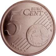 Estonia 5 Euro Cent 2011 KM# 63 Euro Coinage 5 EURO CENT LL coin reverse