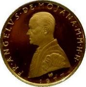 Malta 5 Scudo X# 66 Decimal Coinage FR∙ANGELVS∙DE∙MOJANA∙M∙M∙H∙H∙ 1977 coin obverse