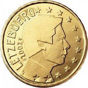 Luxembourg 50 Euro Cent 1st map 2002 (u) Proof KM# 80 LËTZEBUERG 2002 GC coin obverse
