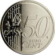 Estonia 50 Euro Cent 2011 KM# 66 Euro Coinage 50 LL EURO CENT coin reverse