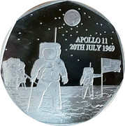 UK 50 Pence 50th anniversary of the moon landing 2019 APOLLO 11 20TH JULY 1969 coin reverse