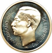 Luxembourg 500 Francs 50th Anniversary of Liberation 1994 (qp) Proof KM# 69 JEAN GRAND-DUC DE LUXEMBOURG IML coin obverse