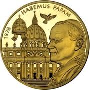 Malta 50000 Liras Inauguration of Pope 2005 Proof finish 1978 HABEMUS PAPAM coin reverse