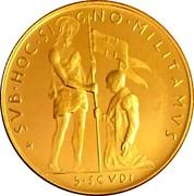 Malta 5·Scvdi (Angelo) X# 78 SVB ∙ HOC ∙ SI GNO ∙ MILITAMVS 5∙SCVDI coin reverse