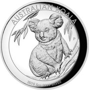Australia 8 Dollars High Relief Koala 2019 Proof AUSTRALIAN KOALA 2019 5OZ 9999 SILVER coin reverse