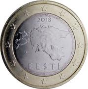 Estonia Euro 2011 KM# 67 Euro Coinage 2011 EESTI coin obverse