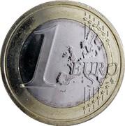 Estonia Euro 2011 KM# 67 Euro Coinage 1 EURO LL coin reverse