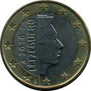 Luxembourg Euro Sint Servaasbrug 2010 (u) KM# 92 2018 LËTZEBUERG GC coin obverse
