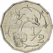 Cyprus Half Cent 1983 KM# 52 Reform Coinage coin reverse