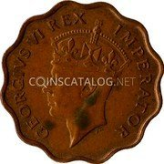 Cyprus Piastre 1945 KM# 23a Piastre Coinage coin obverse