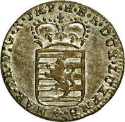 Luxembourg Sol Maria Theresa 1775 (b) KM# 6 MAR•TH•D:G•R•JMP•H•B•R•DUX•LUXEMB•+ coin obverse