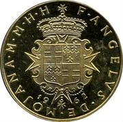 Malta S•V (Angelo) X# 7 F•ANGELVS•DE•MOJANA•M•M•H•H 19 62 coin obverse