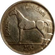 Ireland 1/2 Crown 1939 KM# 16 Republic LEAT COROIN 2S 6D PM coin reverse