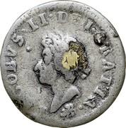 Ireland 1/2 Penny James II 1690 KM# 96 IACOBS II DEI GRATIA coin obverse
