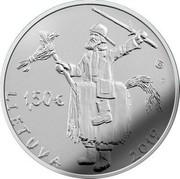 Lithuania 1,50€ Mardi Gras 2019 LMK LMK F 1,50€ LIETUVA 2019 coin obverse