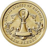 USA $1 (American Innovation - Incandescent Light Bulb) $1 IN GOD WE TRUST PH JK coin obverse