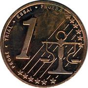 Cyprus 1 Euro Cent Probe trial prueba 2004 UNC X# Pn1 PROBE • TRIAL • ESSAI • PRUEBA 1 coin reverse