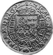 Lithuania 10 Ducats Sigismund III 1616 KM# 7.2 16 66 MO NETA NOVA AVREA M D L coin reverse