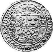 Lithuania 10 Ducats (Sigismund III) KM# 7.1 16 66 MO NETA NOVA AVREA M DT coin reverse