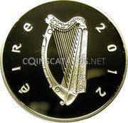 Ireland 10 Euro 2012 Proof KM# 70 Euro Coinage coin obverse