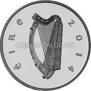 Ireland 10 Euro 2014 Proof KM# 81 Euro Coinage coin obverse