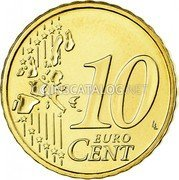 Ireland 10 Euro Cent 2006 Proof KM# 35 Euro Coinage coin reverse