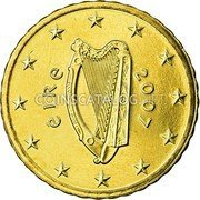 Ireland 10 Euro Cent 2007 Proof KM# 47 Euro Coinage coin obverse
