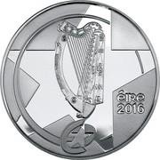 Ireland 10 Euro Eileen Gray 2016 Proof KM# 89 ÉIRE 2016 coin obverse