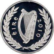 Ireland 10 Euro Gaisce 2010 Proof KM# 65 ÉIRE 2010 coin obverse