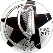 Ireland 10 Euro Ha'Penny Bridge 2017 Proof ÉIRE 2017 coin obverse