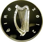 Ireland 10 Euro Jack Butler Yeats 2012 Proof KM# 70 ÉIRE 2012 coin obverse