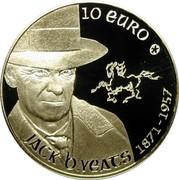 Ireland 10 Euro Jack Butler Yeats 2012 Proof KM# 70 10 EURO JACK B. YEATS 1871 - 1957 coin reverse