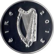 Ireland 10 Euro James Joyce 2013 Proof KM# 80.2 ÉIRE 2013 coin obverse