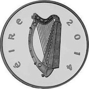 Ireland 10 Euro John McCormack 2014 Proof KM# 81 ÉIRE 2014 coin obverse